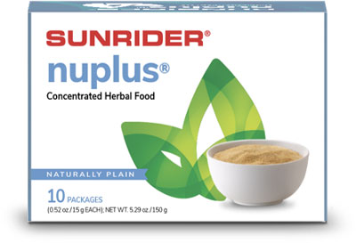 Nuplus® Naturally Plain Concentrated Herbal Food