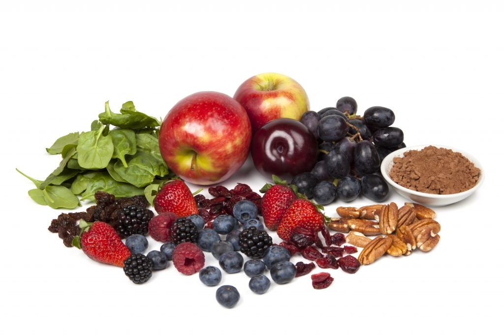 Eat antioxidant-rich foods on a regular basis